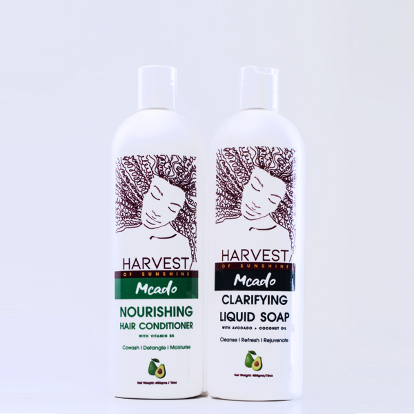 Harvest of Sunshine Daily Clean & Condition Pack